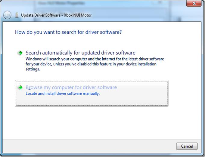 Xbox Nui Camera Driver Download